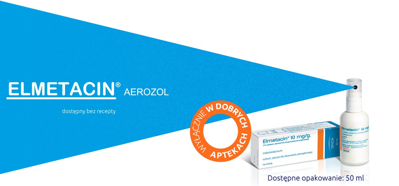Elmetacin – lek bez recepty na bóle stawów, stłuczenia i stany zapalne